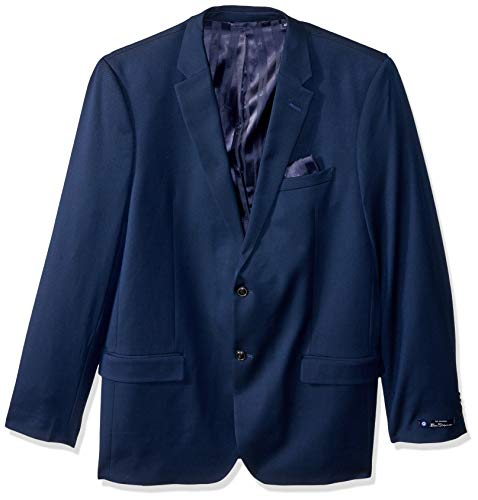 Ben Sherman Men's Modern Fit Suit Separate Blazer (Blazer and Pant), Blue, 42R