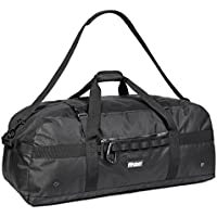 Heavy Duty Extra Large Sports Gym Equipment Traveling Duffel Bag W/Adjustable Shoulder & Compression Straps. Great for Team Coaches, Perfect for Soccer, Baseball, Basketball, Hockey. Football & More