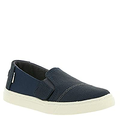 TOMS Luca Shoe Navy Nylon/Textural Canvas Size 5 M US Toddler