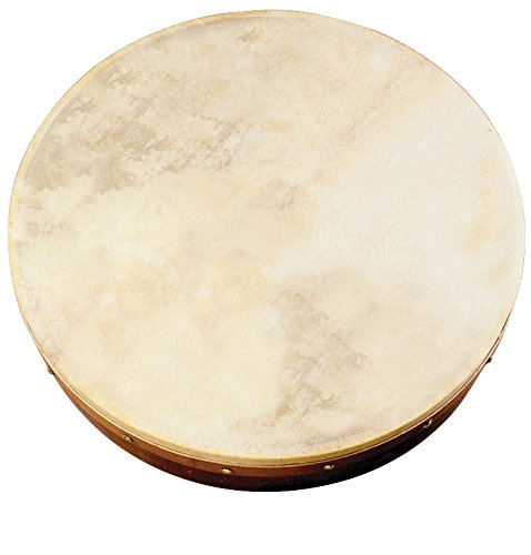 Waltons Bodhrán (12'') - Handcrafted Irish Instrument - Crisp & Musical Tone - Hardwood Beater Included w/Purchase by Waltons