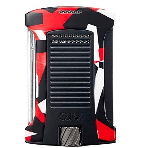 Colibri Daytona Single Jet Flame Lighter (Camo) (Red Camo)