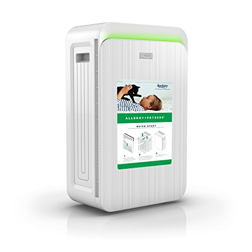 Aprilaire Allergy + Pet9550 True HEPA Air Purifier with 4-Stage Filtration, for Pet Allergens & Odors, (Aprilaire Manual)