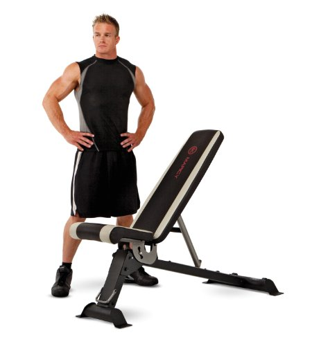 Side Cage Entry (Marcy Adjustable Utility Bench for Home Gym Workout SB-670)