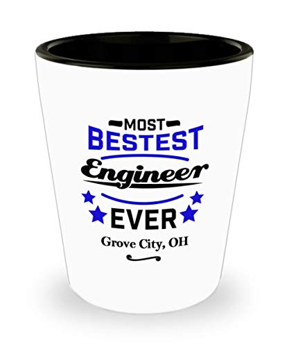 Funny Shot Glass For Engineers: