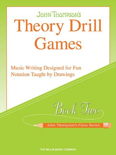 Theory Drill Games, Book Two (John Thompson's Piano) by John Thompson (2005-07-01)