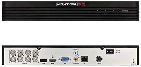 Night Owl 5MP Extreme HD 8 Ch 1 TB HDD and 4 x 5MP Cameras C-841-PIR5MPN