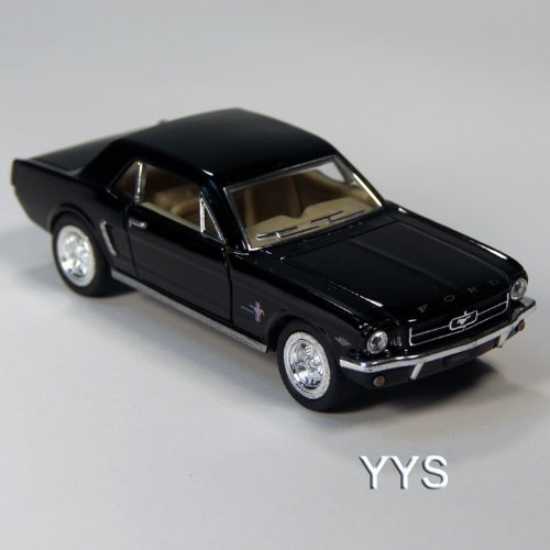 ToySmith 1964 Late Model Ford Mustang Die-Cast Car 1:36 Scale-Black by ()