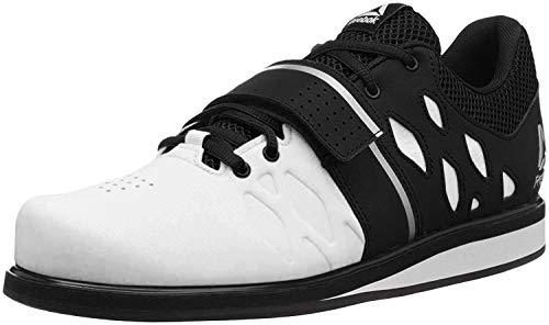Reebok Men's Lifter PR Cross Trainer, White/Black, 10 M US (Convert Shoes)