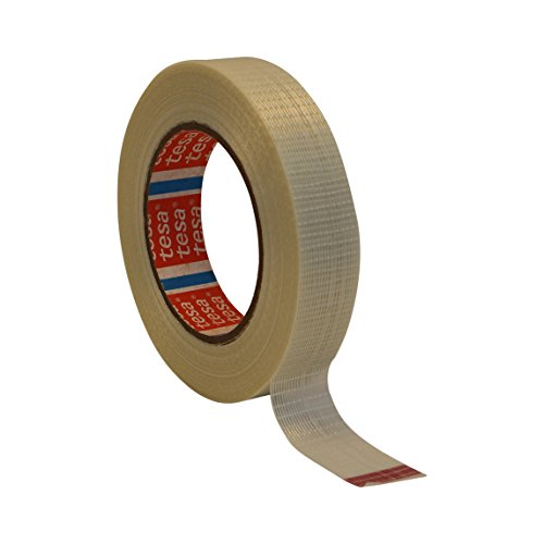 tesa 4591 Bi-Directional Filament Strapping Tape: 1 in. x 55 yds. (Translucent)