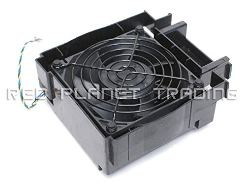 Cooling Fan Fits Alienware Aurora Cooling PCI 4-Pin Fan Assembly w/Cover P2YTV 2RJK3 ()