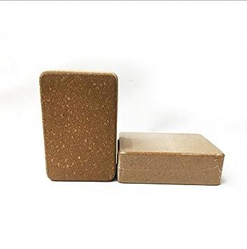 Wuudi® Yoga Block Corcho Alta Densidad Yoga Brick Yoga ...
