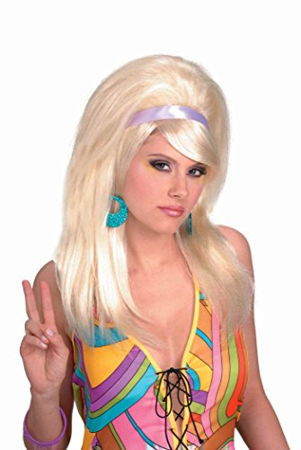 60s Women (Forum Novelties Women's 60's Mod Wig, Blonde, One Size)