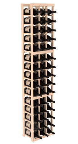 Wine Racks America Ponderosa Pine 3 Column Magnum/Champagne Kit. 13 Stains to Choose From!