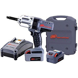 Ingersoll Rand W7250-K2 1/2-Inch High-Torque 2-Inch Extended Anvil Impactool Kit with Charger, Li-ion Batteries and (Ingersoll Rand Case)