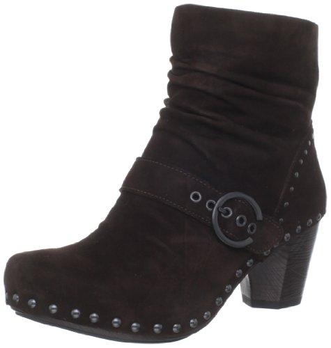 Dansko Women's Nikita Ankle Boot,Chocolate,36 EU/5.5-6 M US