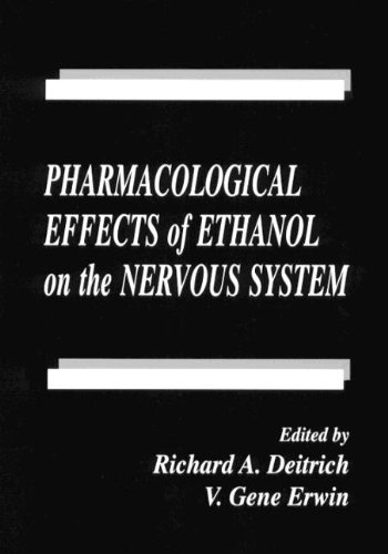 Pharmacological Effects of Ethanol on the Nervous System (Handbooks in Pharmacology and Toxicology)