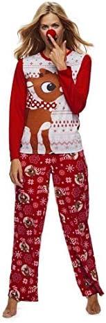 Family Christmas Pajamas Set Dad Mom Baby Kid Family Matching Sleepwear