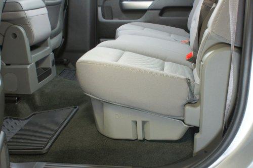 du ha under seat storage fits 14 17 chevrolet gmc import it all. Black Bedroom Furniture Sets. Home Design Ideas