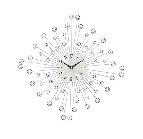 Deco 79 66983 Amazing Metal Acrylic Wall Clock, 19