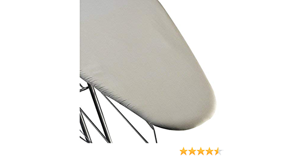 """Extra-Wide Ironing Board Cover 49""""L x 18""""W Ivory 1//2in Fiber/&Foam Pad"""