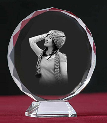 Eiffee 3D Laser Engraving Crystal Gifts Crystal Photo Crystal Cube Customized