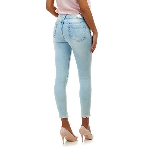 Slim dlav Clair Bleu et Modeuse Destroy Jeans La vwRxUpEqt