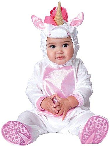 InCharacter Costumes Baby Girls' Magical Unicorn Costume, White/Pink, -
