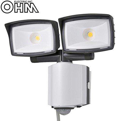 オーム電機 OHM 2灯式LEDセンサーライト OSE-LS2200 インテリア 照明 ab1-1136097-ah [簡素パッケージ品] B07CGCKRWJ 14640