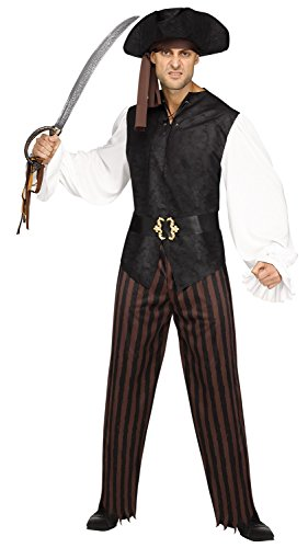 Rustic Mens Costumes (Mens Rustic Pirate Costume - Adult Std.)