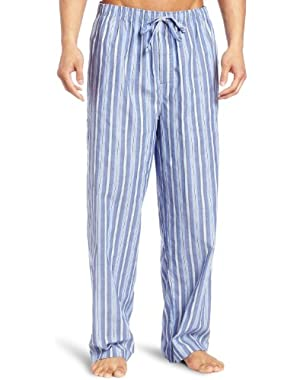 Men's Sultan-Striped Woven Pajama Pant
