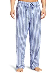 Nautica Men\'s Sultan Stripe Woven Pajama Pant, Cornflower, Medium