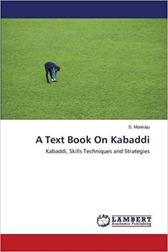 A Text Book On Kabaddi