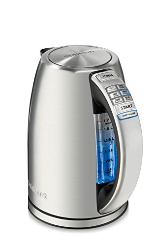 Buy Discount Cuisinart CPK-17AMZ Perfect Temp Cordless Programmable Kettle, Stainless Steel