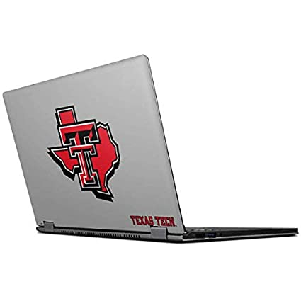 Amazon.com: Skinit Texas Tech State Outline IdeaPad ...