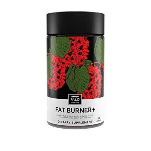 Fat Burner + |( 90 ea)-All Natural and Safe Weight Loss Supplement, Appetite Supressant - Green Tea, Yerba mate, Caralluma fimbriata, Chromium, L-Carnitinine and Guarana | By PALO Nutrition