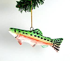 share facebook twitter pinterest - Fish Christmas Ornaments