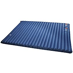 XIAOEMI Inflatable Bed Moisture-Proof Air Mattress with Built-in Air Pump Outdoor Drive Camping Hiking (Color : Blue)