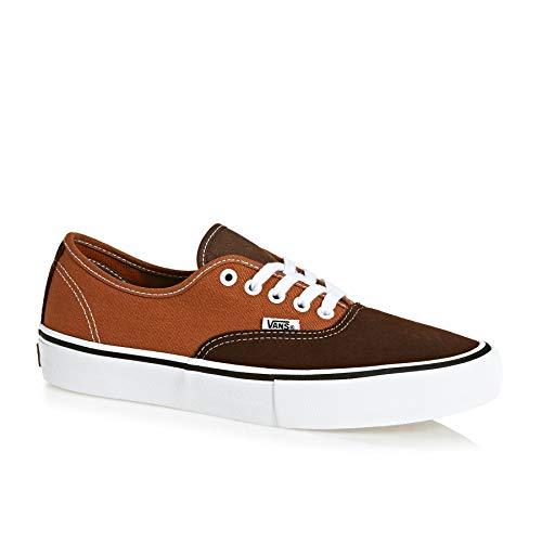 Vans Men's Shoes Authentic Pro Suede/Canvas Skate Sneakers VN000Q0DU14 (12 D(M) US Men) (Vans Authentic Suede)