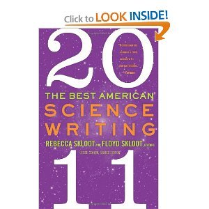Books : TheBest American ScienceWriting2011