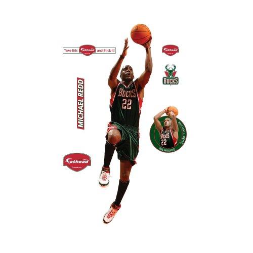 Fathead NBA Milwaukee Bucks Michael Redd