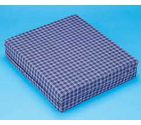 Wheelchair Cushion - Ripstop Fabric, Zippered Cover - Durable Memory Foam Helps Maintain an Upright Position - By Hermell Products