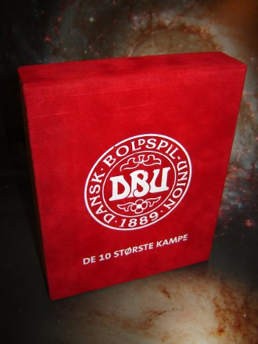Danish Soccer History DBU / 10 Complete Football Matches from the History Denmark / 10 DVD Collector's Luxury Set / Dansk Boldspil-Union 1889 Presents: De 10 Storste Kampe: Denmark - Sovjetunion 4:2, Denmark - Greenland 7:1, Holland - Denmark 6:7, England - Denmark 0:1, Danmark - Belgium 3:2, Danmark - Uruguay 6:1, Nigeria - Denmark 1:4, Portugal - Denmark 2:3