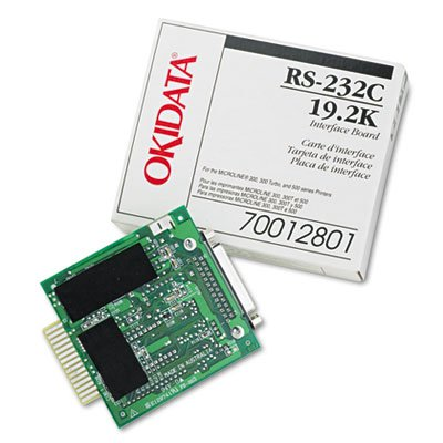 (Internal RS-232C Interface for Okidata Microline ML-320/321/520/521/590/591, Sold as 1 Each)