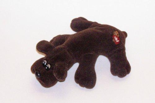 "Original 9"" Newborn Pound Puppies ~ Dark Brown Labrador Retriever"