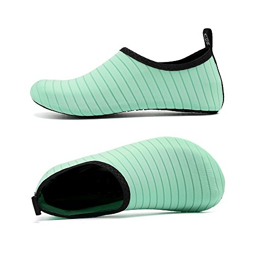 for Unisex Dry Shoes Men Socks Shoes Beach Green Coolloog Aqua Women Yoga Quick Kids Exercise Barefoot Water dOXPPwq7
