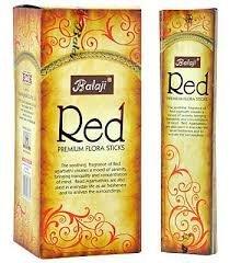 BALAJI RED Incense Sticks Floral Masala Agarbathi - 50g Boxes (1)
