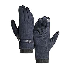 Amazon.com: OUYAWEI Men Winter Stylish Soft Warm Plush