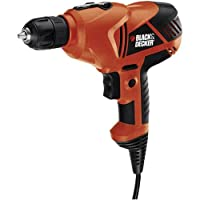 Black & Decker DR250B 5.2-Amp 3/8-Inch VSR Drill/Driver with Storage Bag