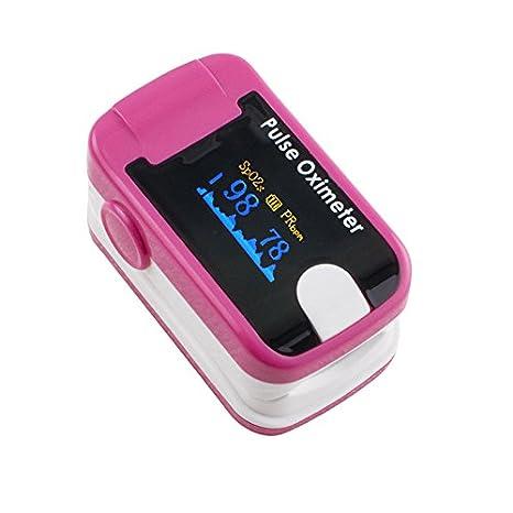 Dedo oxímetro de pulso OLED Carejoy Handheld Digital oxígeno en la sangre y pulso Sensor metro