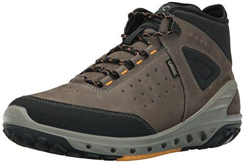 ECCO Men's Biom Venture High Gore-Tex Hiking Boot, Black/Tarmac, 45 EU / 11-11.5 US